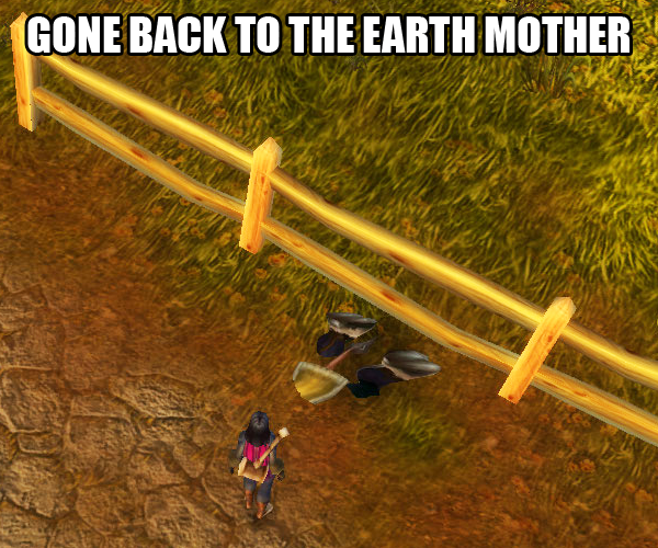 Gone Back to the Earth Mother