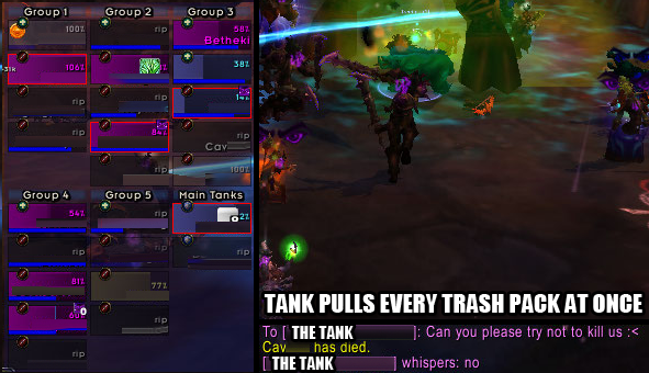 And They'll All Go Down Together If only I had a way to kill the tank without offing myself too.